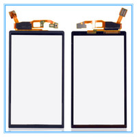 Wholesale Neo Mt15i - Black Touch Screen Digitizer Front Glass Panel For Sony Ericsson Xperia Neo V MT15i MT11i MT15 Touchscreen Sensor Replacement Free Shipping