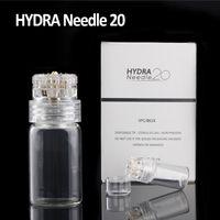 Wholesale Mesotherapy Needling - Mesotherapy Hydra Needle Gold Titanium 20 needles Derma Stamp Serum Applicator Tappy Tok Tok