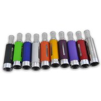 Wholesale Evod Branded - MT3 EVOD ATOMIZER EGO CLEAROMIZER COLORFUL CARTOMIZER BCC ECVV ELECTRONIC CIGARETTE MATH WITH EGO-T EGO-W TWIST BATTER BRAND NEW
