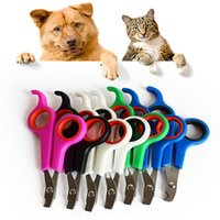 Nouvelle qualité Pet Dog Cat Care Nail Clipper Scissors Grooming Trimmer 12 * 6cm Noir Couleur Pet supplies IC750