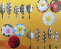 Wholesale russian art for sale - Group buy 10PCS D Jelly Art Tools Gurbias Cake Jello Art Gelatin Moulds Flower Pudding Mold With PC Syringe Set Russian Tulip Nozzles