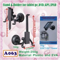 Wholesale Epad Phone - Wholesale- [A063] universal stand & holder for IPAD,tablet pc,MID,ePAD,cell phone