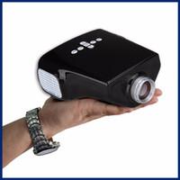 Wholesale Portable Mini Projector Cheapest - Wholesale-Hot Selling Cheapest Mini Portable E03 LED Projector Digital Video Projector HD Proyector Home Cinema Theater