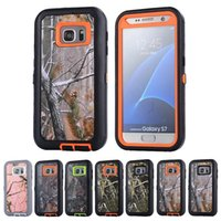 Wholesale Case Defender 4s - Branch Style Hybrid Rugged Shockproof Defender Hard Cover Case For iPhone 4s 5c 5s 6 7 plus Samsung Galaxy S7 edge Note 3