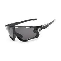 Wholesale Wholesale Jaw - Wholesale-Hot Sale Fashion Sunglasses Men Outdoor Fishing Parkour Anti-Reflective UV400 Sport Brand Designer Goggles Mens lunette Jaw