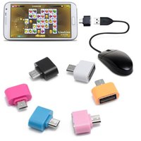 Wholesale huawei tablet accessories - Micro USB OTG to USB 2.0 Adapter For Samsung Galaxy S III S3 S6edge Huawei Tablet Celular Android Cable Mobile Phone Accessories