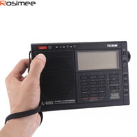 Wholesale tecsun radio digital portable - Wholesale-Quality TECSUN PL-600 Digital Tuning Full-Band FM MW SW-SBB PLL SYNTHESIZED Stereo Radio Receiver (4xAA) PL600rqdio