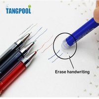 Wholesale Wholesale Gel Packs - Wholesale- Pack of 12 Pcs 0.5mm Friction Erasable Gel Pen Office School Supplies Students Children Gift Free Shipping