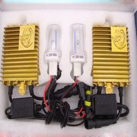 Wholesale Auto Xenon Hid Conversion - 200W HID Xenon Conversion Headlight Kit Car Light Bulb H1 H3 H7 H8 H9 H11 9005 9006 4300K 6000K 8000K 1000K Auto Lamp