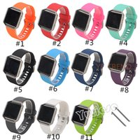 Wholesale Best Quality Wrist Watch - Best Quality Soft Silicone Strap for Fitbit Blaze Tracker Smart Watch Band Buckle Bracelet DHgate Cheapest