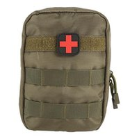 Wholesale Medical Pouches - 2017 First Aid Bag Only Molle Medical EMT Cover Outdoor Emergency Military Program IFAK Package Outdoor Travel Hunting Utility Pouch