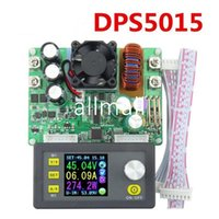 Wholesale electrical power supply - Freeshipping DP50V15A DPS5015 Constant Voltage current Step-down Programmable digital Power Supply buck Voltage converter LCD voltmeter