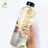 Wholesale Huge Drive - Wholesale- 600ml 1000ml Huge Capacity Water Bottles Leakproof Seal Outdoor Self-driving Travel Direct Drinking Glass Water Bottle with Lid