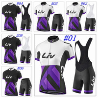 Wholesale Liv Clothes - 2017 LIV Cycling Jerseys Summer Style For Women Short Sleeves Bike Wear MTB Ropa Ciclsimo Quick Dry Size XS-4XL Bicycle Clothing
