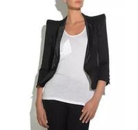 Wholesale Brand Women Blazers - chaquetas mujer UK Brand New 2017 Spring Autumn ZA style Women Classic Black Blazer feminino Casual Jacket female cloth