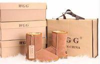 mode schnee stiefel frauen leder großhandel-Fabrik HOT 2017 Klassische WGG Marke Frauen populäre Australien Echtem Leder Stiefel Mode frauen Schnee Stiefel US5-US10