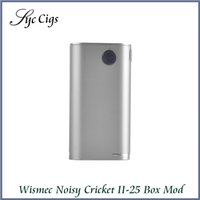 Wholesale Alternative Power - Wholesale- Original Wismec Noisy Cricket II-25 Box Mod Alternative Operating Mode Power Electronic Cigarette Hookah Vape Vaporizer