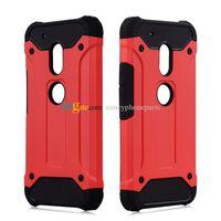 cajas de teléfono moto g3 al por mayor-TPU + PC 2 en 1 a prueba de golpes Armor Case PARA Motorola MOTO C G4 G5 Plus Cajas para teléfono G4 Play G G2 G3 Cubiertas traseras