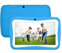 """Wholesale External Bluetooth Camera For Tablet - 7"""" Tablet PC Android 4.4 KitKat A9 X 2 for Education Kids Children Quad Core 8GB Camera Free Shipping"""