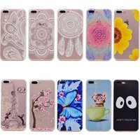 Wholesale Etui Iphone - Soft silicone cases for iphone 6 Plus case tpu phone cover 6s Plus funda coque carcasa etui kryty kasus kilifi capas capinha hoesje frontje