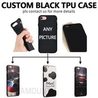 Wholesale Wholesale Personalized Wallets - 100pcs wholesale Personalized case DIY case for iPhone 8s 8plus X Custom Design High Quality TPU Case for iPhone X 7 7plus