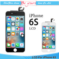 Wholesale Wholesaler Coupon - Replacement For iPhone 6S LCD Display Touch Screen Digitizer Assembly Repair Part with Frame AAA Grade No Dead Spot Coupon