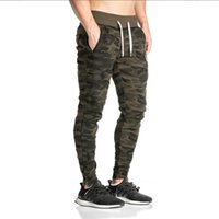 Wholesale Sport Cargo Pants For Men - baggy Joggers New Arrival Fashion Slim Fit Camouflage Jogging Pants Men Harem Sweatpants Cargo Pants for Track Training sports