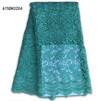 Wholesale Voile Print Fabric - wholesale and retail New high quality African Guipure swiss voile print lace fabric for beautiful dress,nigerian water Soluble lace