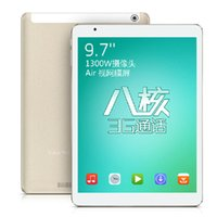 Wholesale Teclast P98 Tablet - Wholesale- Teclast P98 3G Octa Core MTK8392 Tablet PC Retina 9.7inch 2048x1536 Dual Camera 13.0MP Android 4.4 GPS WCDMA Phone Call 2GB 16GB