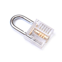 Beautiful Modern Style Transparent Visible Pick Cutaway Mini Practice View Padlock Door Locks Kit Training Skill Tool For Locksmith