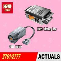 Wholesale New Lepin Genuine The power function motor battery box Technic Series piece building block brick