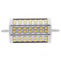 Wholesale Dimmable Led Floodlights - 10pcs New Arrival R7S 9W 42 LEDs Light 118mm SMD 5050 Warm   Cold White Led Light Floodlight Dimmable Non-Dimmable LED Corn Light 110-240V