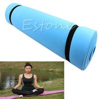 Wholesale yoga pad mattress - Wholesale-1Pc New EVA Foam Eco-friendly Dampproof Mat Exercise Yoga Pad Sleeping Mattress
