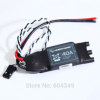 Wholesale Airplanes Class Brushless - Hobbywing XRotor 2-6S 40A Brushless ESC for RC Multicopters 550-650 Class Quadcopter HEXACOPTER esc button brushless esc car