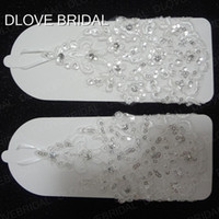 Wholesale wedding dress accessories wrist for sale - Group buy Cheap But High Quality Short Sequined Lace Bridal Gloves Wrist Length Fingerless Wedding Party Dress Decoration Accessories Real Photo