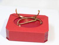 Wholesale Silver Rose Flower Set - Stainless Steel love bracelets 18k gold plated Screw Screwdriver bangles for women men charm bracelets rose gold & silver bangles
