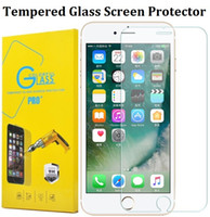 Wholesale Screen Guard Grand Duos - For Iphone 7 Film Screen Protector Tempered Glass For Iphone 6S Plus 5S LCD Screen Guard For Samsung Grand Duos J1 ACE J1 Mini Prime Next J2