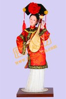 Wholesale Chinese Female Doll - The new package post 5 color silk doll doll palace creative gifts Chinese style desktop decoration