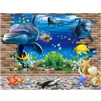 Wholesale Deco Mural Wall Sticker - Creative Technology 3D Background Wall Art Deco Artwork