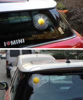 пластик для лобового стекла оптовых-Оптовая 5 фото автомобилей автомобильные аксессуары 3D стерео личность смешные творческий заднее стекло наклейки Бейсбол теннис