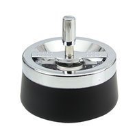 Wholesale Stainless Steel Covered Ashtrays - New Products With cover   Windproof   stainless steel   ashtrays Car Ashtrays Smoking Accessories