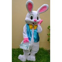 Wholesale Easter Bunny Character Costume - Easter bunny mascot costume fancy dress Interesting clothing Animated characters for part and Holiday celebrations party costume
