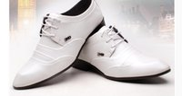 Wholesale Married Dress Man - Han edition fashion stylist wingtip shoes men's shoes white studios get married British men's leather shoes