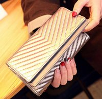 Wholesale Sequin Wedding Clutch - evening bags handbags gold Silver women Envelope Clutch' Bag Dazzling Sequins Glitter Sparkling Cluth Bags Evening Wedding Party