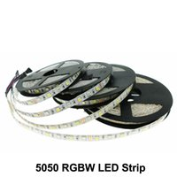 SMD 5050 RGBWW LED Strip Light DC12V Imperméable IP65 60led / M Décoration Décoration de Noël 5m / rouleau