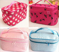 Wholesale Wholesale Bag Manufacturers - Wholesale- Korean cosmetic manufacturers Spot wholesale new high-capacity portable package Quartet jewelry bag travel toiletry kits