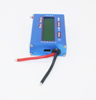 Wholesale power meter monitoring - 100% Brand New RC Wattmeter Watt Meter Digital LCD 60V 100A DC Voltage Current Power Balancer Battery Analyze Checker Monitor