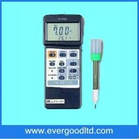 Wholesale ph temp meter - Wholesale- Wholesale &Retail 0-14PH +-2000mV 0-65C 32-150C Digital PH mV Temp Meter PH-207