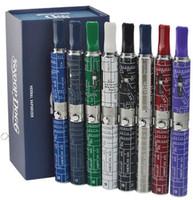 Wholesale E Vap - Snoop dogg E cigarettes Kits Starter Kit 650mah Clone Snoop dogg Dry Herb Vaporizer vap mods eight color choices DHL fast