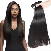 Wholesale Formula Free - Sexy Formula Unprocessed Human Hair Peruvian Virgin Hair Straight four seasons beauty 3 bundles Natural Color Uglam Hair Free Shipping